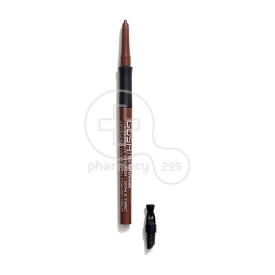 GOSH - THE ULTIMATE EYELINER WITH A TWIST No03 Brownie - 0.4gr