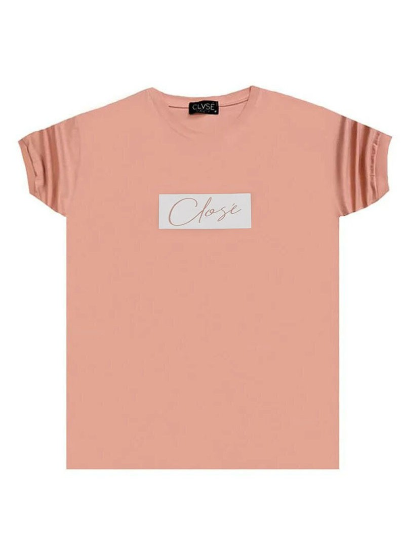 CLVSE SOCIETY SOMON T-SHIRT 501 WITH WHITE SQUARE