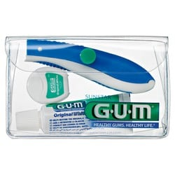 Gum Travel Brush Kit (156)