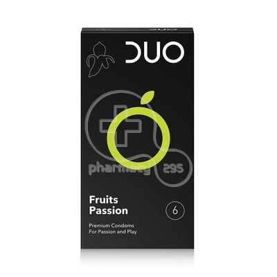 DUO - Προφυλακτικά Fruits Passion - 6pcs