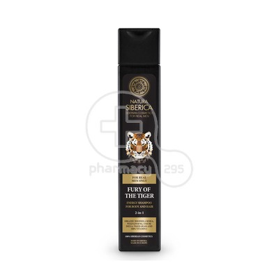 NATURA SIBERICA - MEN Energy Shampoo For Body And Hair Fury Of Tiger - 250ml