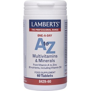 Lamberts a to z multivitamins 60 tabs