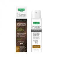 HOMOCRIN TRICOLOR SPRAY ΒΑΦΗΣ ΜΑΛΛΙΩΝ LIGHT BROWN 75ML
