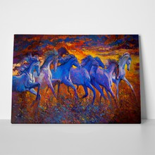 Running horses oil painting 399021250 a