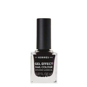 Gel effect nail colour smokey plum 76