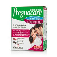 VITABIOTICS - PREGNACARE Him & Her Conception - 60tabs