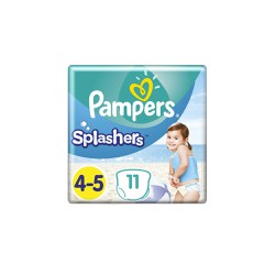 Pampers Splashers Size 4-5 11 Swimsuit Diapers