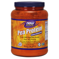 NOW SPORTS PEA PROTEIN POWDER, 2 LBS (907 GR)