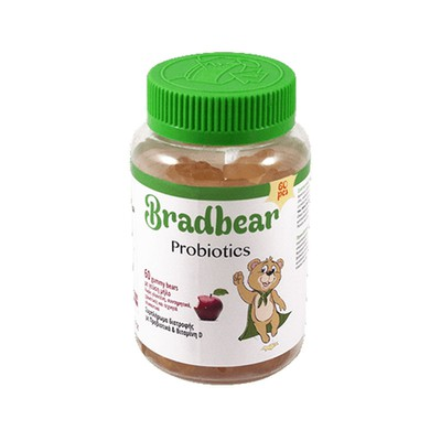 Bradex - Bradbear Probiotics - 60gummy bears
