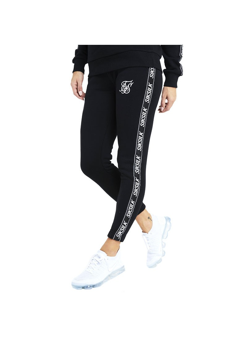 SIKSILK ORIGINAL TAPE JOGGERS-BLACK