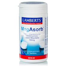 Lamberts MAGASORB 150mg - Μαγνήσιο, 60tabs