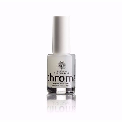 Garden Of Panthenols - Chroma Matte Top Coat Nail Therapy - 12ml