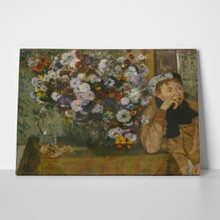 Degas woman beside flowers 747216547 a