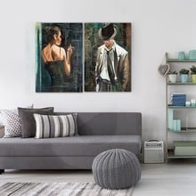 Diptych mr and mrs