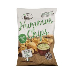EAT REAL HUMMUS CREAMY DILL ΣΝΑΚ 135 gr