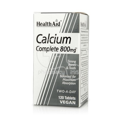 HEALTH AID - Calcium Complete 800mg - 120tabs