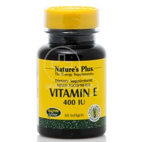 NATURE'S PLUS - Vitamin E 400IU - 60softgels