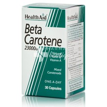 Health Aid BETA CAROTENE 23.000iu, 15mg x 30caps