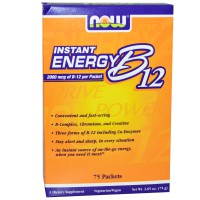 NOW INSTANT ENERGY B-12 75 PACKS