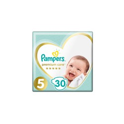 Pampers Premium Care Diapers Size 5 (11-16kg) 30 Diapers