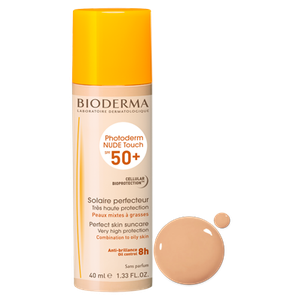 BIODERMA Photoderm NUDE touch spf50 light απόχρωση