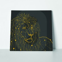 Lion clean low poly 399266620 a