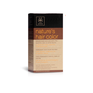 APIVITA Βαφή Nature's hair color N5.65 μαονί