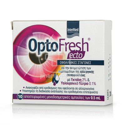 INTERMED - OPTOFRESH Ecto Eye Drops - 10x0.5ml