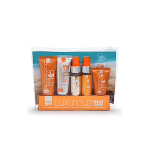 LUXURIOUS Sun care travel kit