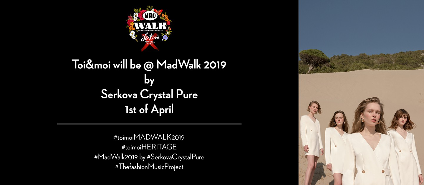 Toi&moi will be @MadWalk!