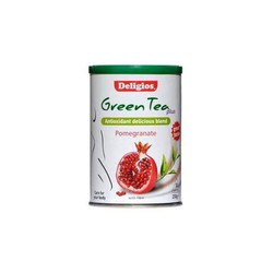 Deligios Green Tea Plus - Pomegranate