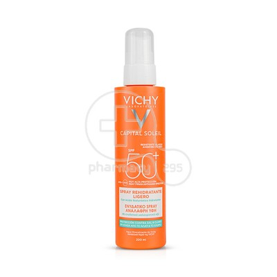 VICHY - CAPITAL SOLEIL Rehydrating Light Spray SPF50+ - 200ml