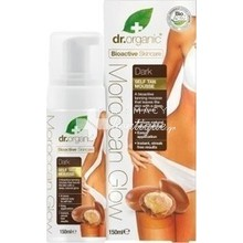 Dr. Organic Moroccan Glow Dark Self Tan Mousse 150ml