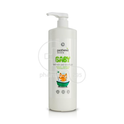 PANTHENOL - Panthenol Extra Baby 2in1 Shampoo & Bath - 1000ml
