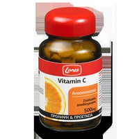 Lanes Vit C 500Mg 30T Red