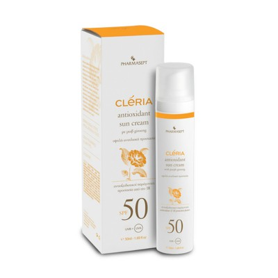 CLERIA - Antioxidant Sun Cream SPF50 - 50ml