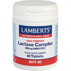 Lamberts Lactase Complex 200mg 60 ταμπλέτες