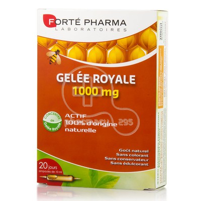 FORTE PHARMA - Gelee Royale 1000mg - 20amp.x10ml