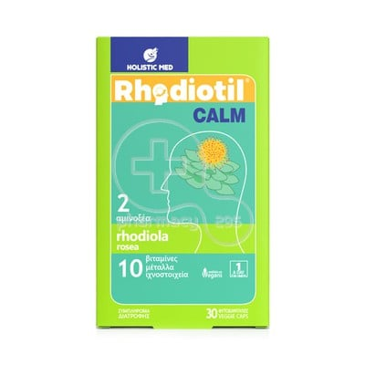 HOLISTIC MED - RHODIOTIL Calm - 30caps