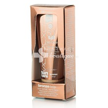 Intermed Luxurious Sun Care BB Cream SPF50 Bronze Beige Silk Cover with Hyaluronic Acid, 75ml