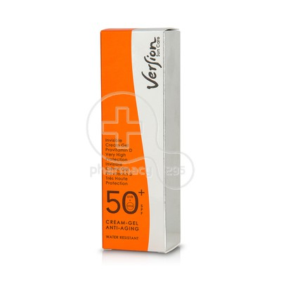 VERSION - Sun Care SPF50+ Cream Gel Anti-Aging - 50ml