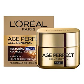 LOREAL ΚΡΕΜΑ ΝΥΧΤΑΣ AGE PERFECT CELL RENEW ΚΥΤΤΑΡΙΚΗΣ ΑΝΑΠΛΑΣΗΣ 50ML