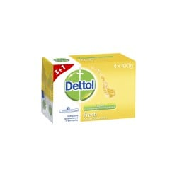 Dettol Soap Fresh 100gr Promo 3+1