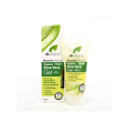 Dr.Organic Aloe Vera Gel with Cucumber & Witch Hazel 200ml