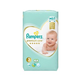 Pampers Jumbo Premium Care No3 (5-9kg) 60 τμχ