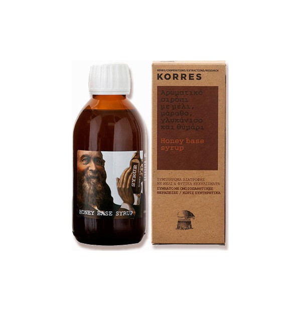 KORRES SYRUP HONEY BASE 200ML