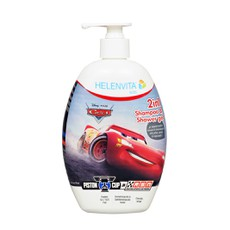Helenvita Disney® Kids 2 in 1 Shampoo & Shower Gel Αυτοκίνητα 500ml