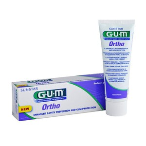 GUM Ortho 3080 toothpaste 75ml