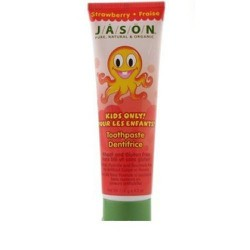 Jason Tooth Paste with Xylitol and Alow Vera Strawberry Flavour 119gr