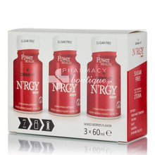 Power Health Drink it N'RGY SHOT - Άμεση Τόνωση, 3 x 60ml